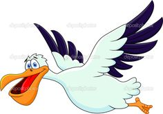 cartoons flying figures | Seagull Cartoons Cartoon Funny