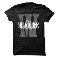 I Love Warriner team lifetime member ST44 T shirts