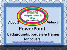 FREE video/tutorial about using Microsoft images and shapes to make eye-catching backgrounds for product covers and blog wallpaper VIDEO 3