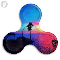Beautiful Thailand Beach Sunset Tri-Spinner Fidget Hand Spinner Stress Reducer Toy Anxiety Stress Relief Fidget Spinner For Kids And Adult - Fidget spinner (*Amazon Partner-Link)