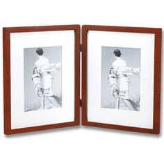 Saunterton Contemporary Hinged Double Picture Frame