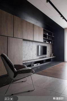 現代風的裝潢圖片為新澄設計的設計作品,新澄_45之6設計案例,是一間新成屋(5年以下),總坪數為42,格局為三房,更多新澄設計設計案例作品都在設計家 Searchome Living Room Tv Unit, Living Room Sofa Design, Living Room Red, Interior Design Living Room, Living Room Designs, Tv Console Design, Tv Wall Design, Home Office Design, House Design