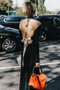 #bag #fashion #fashionista #fashionblogger #fashionaddict #trend #trendy #cool #inspiration #lifestyle #style #nice #chic #streetstyle #itgirl #details #back #black #dress #accessories #accessory