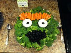 Sesame Street Oscar the Grouch Veggie Tray
