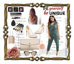 """""""Unique"""" by sadeta-v ❤ liked on Polyvore featuring Pink Clove, Christian Louboutin, Dolce&Gabbana, Essie, Bobbi Brown Cosmetics, Balenciaga and Charlotte Russe"""