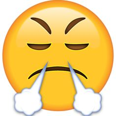 Somebody got you so steamed up that your nostrils could flare with smoke like a dragon's? Just let them know you're furious with this emoji. Emoji Wallpaper Iphone, Cute Emoji Wallpaper, Cute Girl Wallpaper, Caim E Abel, Angry Emoji, New Emojis, Emoji Design, Emoji Images, Heart Emoji