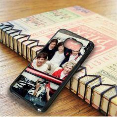 1d One Direction Harry Liam Zayn Nial Louis Samsung Galaxy S6 Edge Case