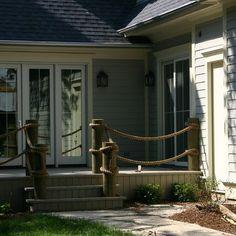 rope pilings | 70,657 rope railing Home Design Photos