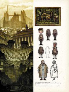 Concept Art of Alice: Madness Returns. Edit by Mixail Pimenov & Aleksandra Brusova
