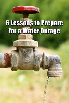6 Lessons Learned from a Water Outage - Have you ever really thought about how much water you use? The amount you use just to flush the toilet in one day might surprise you. That's not counting showers, laundry, cleaning, cooking, and cleaning some more. Have pets and plants? They need it, too.