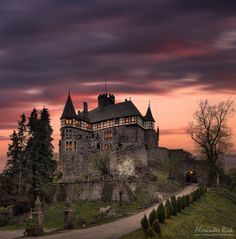 Photo Twilight Castle by Alexander Riek on 500px