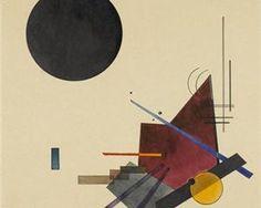 Black Relationship - Wassily Kandinsky