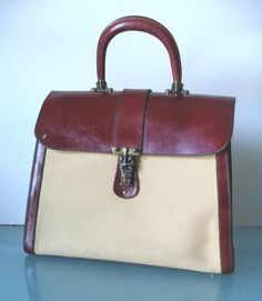 Items similar to Vintage Etienne Aigner Huge Hand Made Handbag on Etsy 81679bc15eaf9