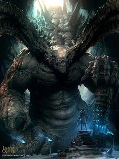 Demon of the Abyss_Adv by Marat-Ars - marat ars - CGHUB via PinCG.com