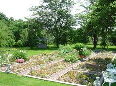 Garden at Marshlands Inn - Sackville, New Brunswick