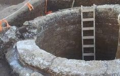Ancient Well Unearthed In Northern Tel Aviv - Rare and advanced water drawing system discovered by Israel Antiquities Authority in Ramat Hahayal neighborhood - A 1500 year old well and reservoir.  #viqua