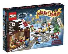 {LEGO City Advent Calendar} How cool is this?!?! Add pieces every day in December up to Christmas Eve