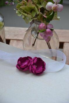 Armband für Brautjungfer, Zubraut, Anlass *beere* von MY bouquet auf DaWanda.com