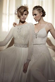 #OMG #WeddingDresses Molly Bloom and Magnolia from Lihi Hod SS 2014 Bridal Collection