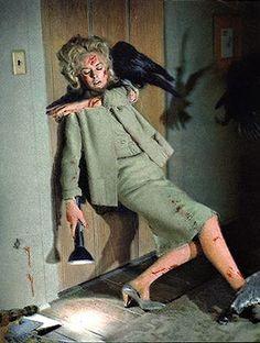 The Birds - 1963 - Tippi Hendren as Melanie Daniels. designer: Edith Head