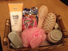 Gift Hampers from Mrs. Hannah's Hampers (find us on Facebook!) XX