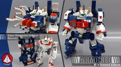 Macross VF-1 Valkyrie +Fast pack / Armored parts