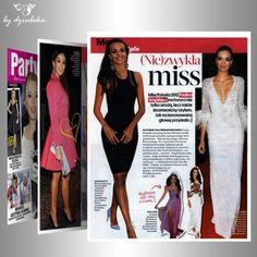 Czytacie Party? Miss Polonia 2012, Paulina Krupińska, wybiera do swoich stylizacji biżuterię By Dziubeka. #bydziubeka #jewelry #earrings