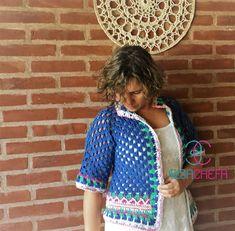 Kimono Crochet, Crochet Saco, Lily Pulitzer, Cardigans, Dresses, Style, Fashion, Tricot, Outfits