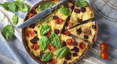 Torta salata con verdure di stagione