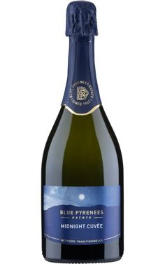 Blue Pyrenees Midnight Cuvee 2015 Pyrenees - 6 Bottles Sparkling Wine, Wines, Bottles, Australia, Blue, Image