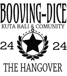BOOVING 24 THE HANGOVER