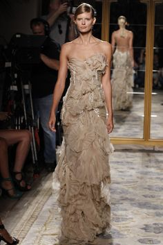 Marchesa--would LOVE to see this on the red carpet during award season