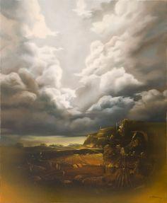 Nicolae Maniu Art Gallery, Clouds, Painting, Outdoor, Outdoors, Art Museum, Painting Art, Paintings, Outdoor Games