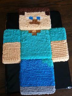 Minecraft cake Steve