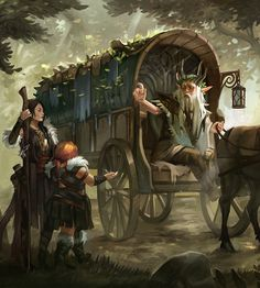 Archetype Illustrations made for the RPG Blue Rose, by Green Ronin. Dungeons And Dragons 5e, Dungeons And Dragons Characters, Dnd Characters, Fantasy Characters, Dark Fantasy Art, Fantasy Artwork, Dragon Rpg, Stoner Art, Character Art