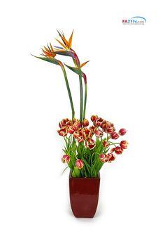 성전꽃꽂이 church floral arrange -  http:// fa21tv.com  조유미 회장 (fa21tv대표) 동영상강의 작품