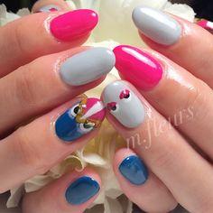 FENDI Monster   Mちゃん♡いつもありがとう♡♡   #FENDI #Monster #Winter #POP #Nail #NailArt #NailDesign #北摂 #箕面 #NailSalon #mfleurs #네일 #네일나 트 #美甲 #美人百花
