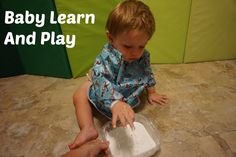 Cornstarch and Water: Come join me as I explore some simple and fun activities that you can try with your young infant