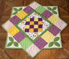 Table+Runner++Summer+Colors+Quilted+and+by+kreationsbykona+on+Etsy,+$39.99 by millicent