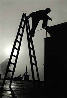 Antonin Gribovsky - Work in the heights, 1959 #Photography
