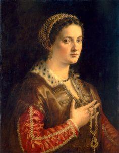 Salviati, Francesco  Florentine, 1510 - 1563Portrait of a Lady c. 1555 oil on panel National Gallery of Art, Washington