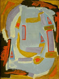 Betty Parsons (American, 1900-1982) Gulf of Mexico, c. 1951 Oil and gouache on masonite, 48 x 36 in.