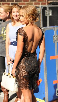 Hayden Panettiere--love this look.  Hair, dress, age appropriate!