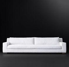 Modena Track Arm Fabric Sofa | RH Modern