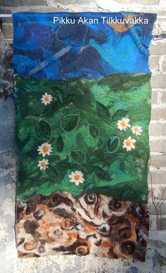 Pikku Akan Tilkkuvakka: Villaa seinälle maakuntalaulun tahtiin Villa, Painting, Art, Art Background, Painting Art, Kunst, Gcse Art, Paintings, Painted Canvas