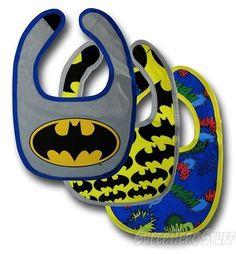 Batman Bib 3-Pack