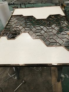 Modern Design Laser Cut Partition Screen Restaurant Wall Panel Screen Marble Screen - China Metal Screen and Room Divider price | Made-in-China.com Hotel Lobby, Hotel S, Stainless Steel Sheet Metal, Partition Screen, Arabic Design, Metal Screen, Custom Framing, Foyer, Animal Print Rug