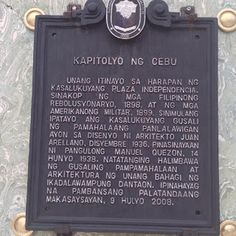The Cebu Provincial Capitol is the seat of the provincial government of the Province of Cebu, Philippines where the governor holds office. Cebu City, The Province, Philippines, Military, Cebu