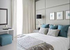 chambre gris/beige bleu tout en douceur