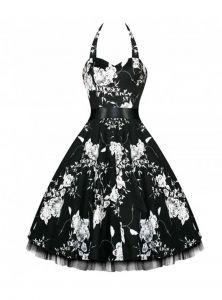 c08599eaf77c620ef2d33aa2ac63a985 white flowers vintage dresses robe vintage rockabilly hr london \